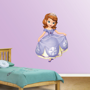 Princess Sophia Fathead Wall Decal